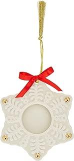 Lenox Snowflake Frame Ornament