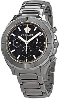 Versace Chronograph Automatic Black Dial Men's Watch VEK800419
