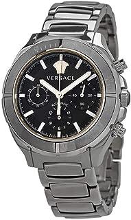 Chronograph Automatic Black Dial Men's Watch VEK800419