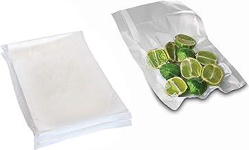 100 قطعة من أكياس شفط الهواء، متينة وعالمية لتخزين الطعام