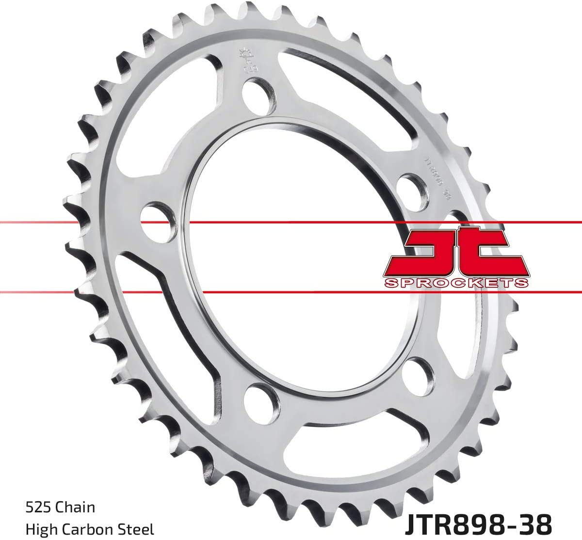 JT Rear Sprocket 44T 525P JTR1792.44 Steel Suzuki DL 650 XT A V-Strom ABS 2017