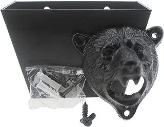 bear bottle opener wall