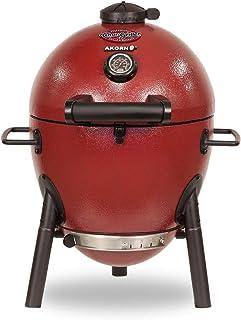Char-Griller E06614 AKORN Jr, Red Charcoal kamado Grill