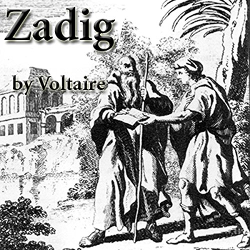 Zadig audiobook cover art