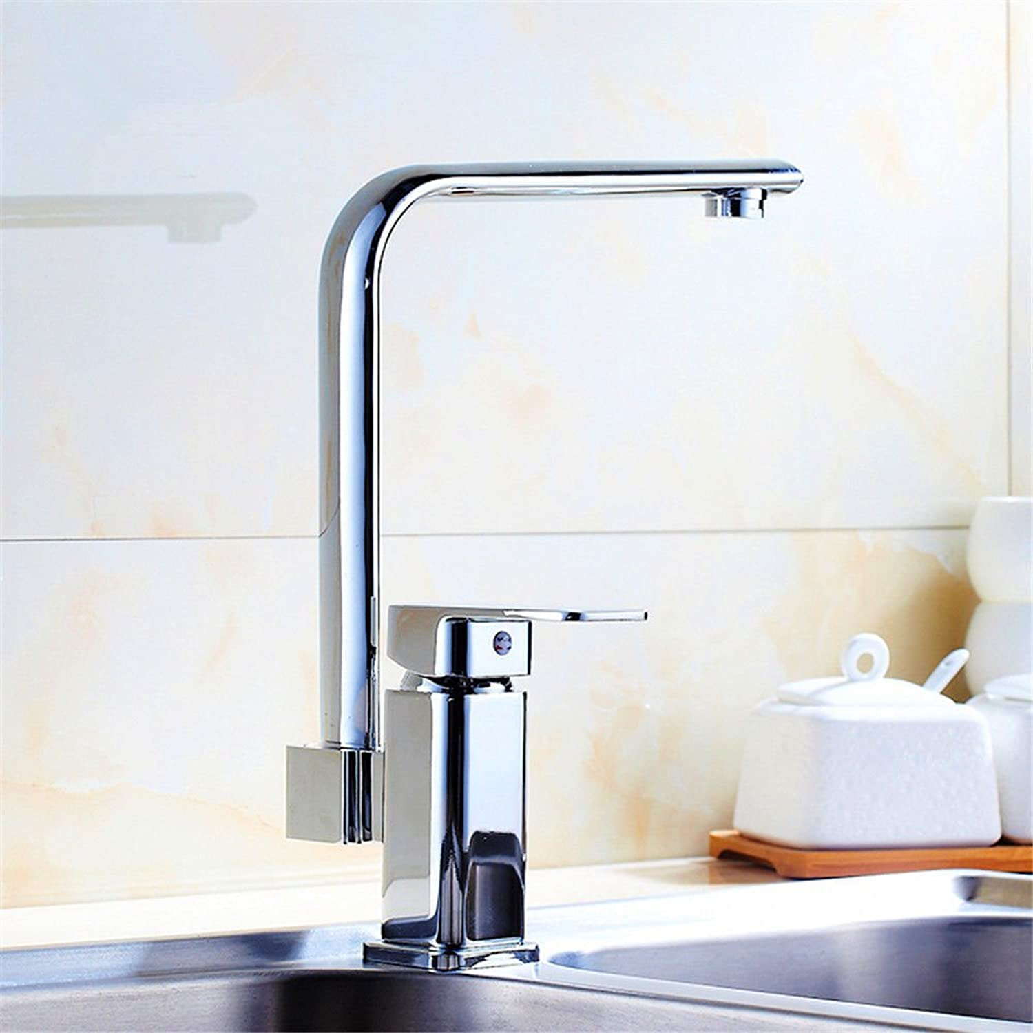 Gyps Faucet Basin Mixer Tap Waterfall Faucet Antique Bathroom Kitchen faucet and cold water tap to wash dishes slot basin basin with two full copper kitchen basin mixer