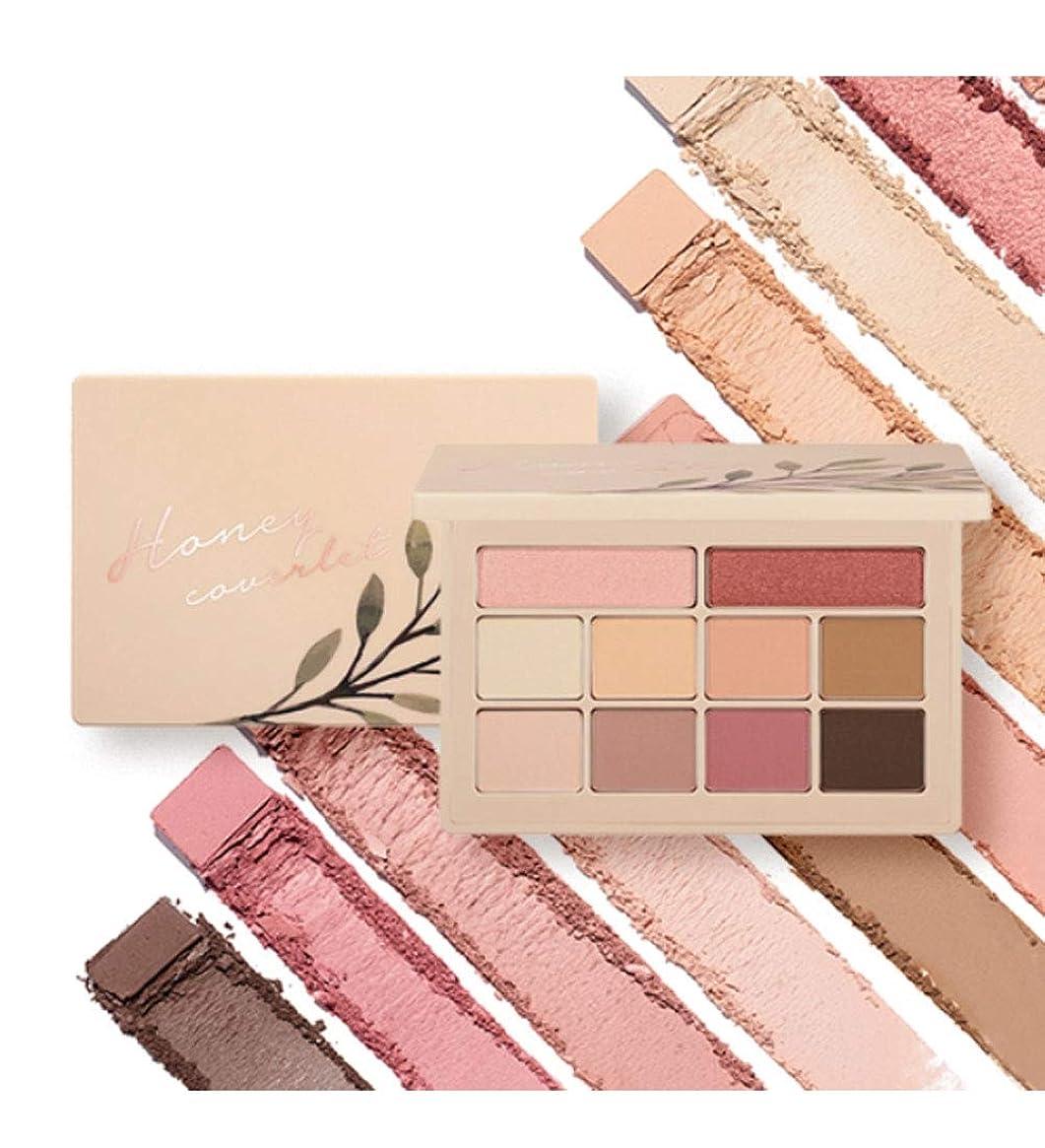 才能のある解体する写真Moonshot Honey Coverlet Eyeshadow Palette YOO IN-NA COLLECTIONwarm tone&cool tone 10色のアイシャドウ(並行輸入品)