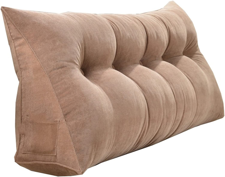 CaoyuCoussins de Mode minimalistes européens, Coussin Amovible, canapé Tatami avec Grand Dossier (Couleur   A, Taille   100  50  20cm)