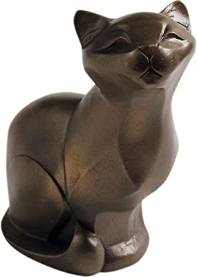 Arora Gallery Collection 8214 Cat Sitting Figurine, Multicolour, One Size