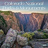 Colorado National Parks & Monuments 2021 12 x 12 Inch Monthly Square Wall Calendar, USA United States of America Scenic Nature