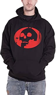 Gorillaz Hoodie Skull Band Logo The Now Now Official Mens Black Pullover