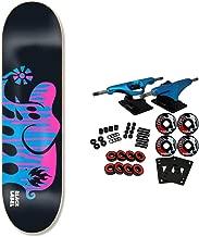 Black Label Skateboard Complete Spill Proof Black/Blue/Purple 8.5