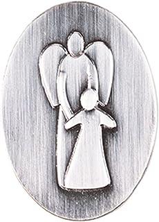Fritz Cox®   moderner Schutzengel als Schlüsselanhänger und Magnet, auf Einer Geschenk Karte gepackt (Magnet)