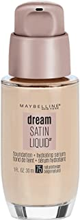 Maybelline New York Dream Satin Liquid Foundation, Natural Beige [75] 1 oz