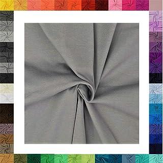Jersey Streifen hellgrau dunkelgrau Baumwoll Jersey meliert 0,5m