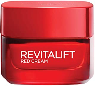L'Oreal Paris Revitalift Energizing Red Day Cream with Pro-Retinol and Ginseng 50 ml