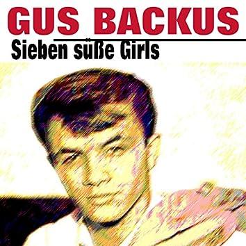 Sieben süße Girls