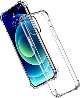 UGREEN Clear Case Compatible For iPhone 12 mini Transparent Cover TPU Protective with 4 Corners Bumper Shockproof Protecti...