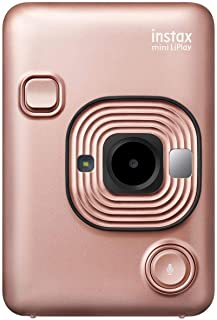 Instax Mini Liplay Hybrid Instant Camera - Blush Gold