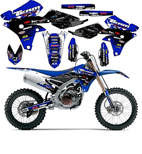 Team Racing Graphics kit Compatible with Yamaha 2000-2007 TTR 125, Scatter