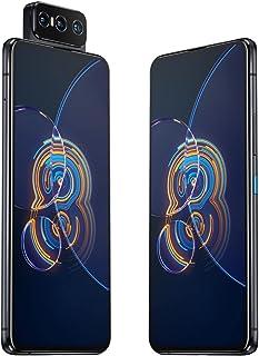Asus Zenfone 8 5G Dual Flip ZS672KS 128GB 8GB RAM Factory Unlocked (GSM فقط | No CDMA - غير متوافق مع Verizon/Sprint) الإص...