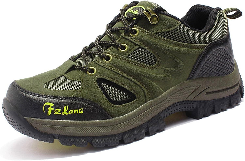 Giles Jones Mens Casual Durable Anti-Slid Hiking shoes Outdoor Waterproof Trekking Cushion shoes