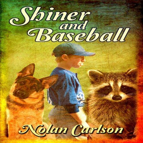 Shiner and Baseball audiobook cover art