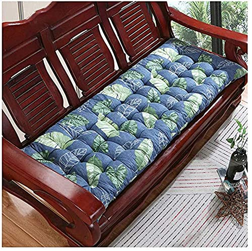 CIN&GO Cojín de banco de jardín con respaldo, 2 – 3 plazas para exteriores, silla de columpio, cojín de asiento largo para el hogar, cojines para el sofá o el patio reclinable hamaca