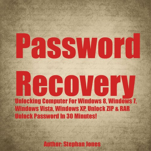Password Recovery audiobook cover art
