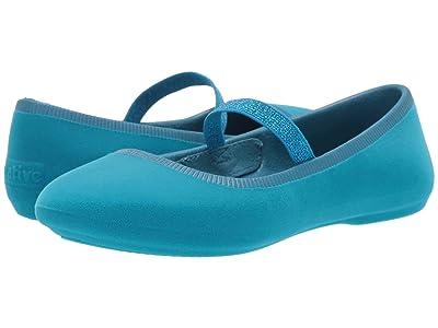 Native Kids Shoes Margot Velvet (Little Kid) (Depth Blue) Girls Shoes