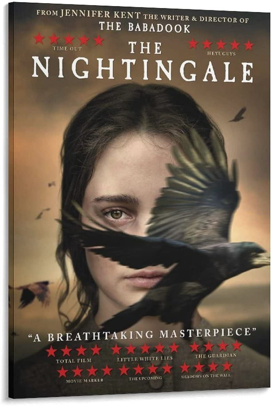 DSAJ The Nightingale Movie Can Ranking TOP10 Deluxe Painting Poster Decorative