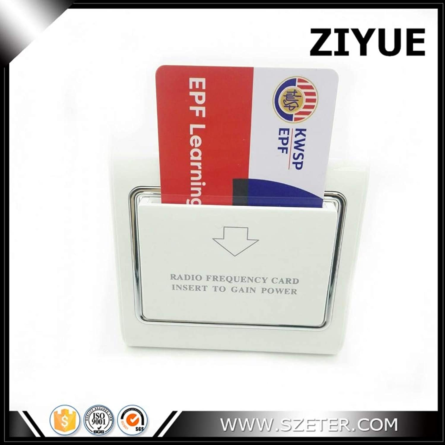 S50 S70 High Frequency 13.56mhz MF Card Key Energy Saver Switch Card Holder for Hotel Guest Room