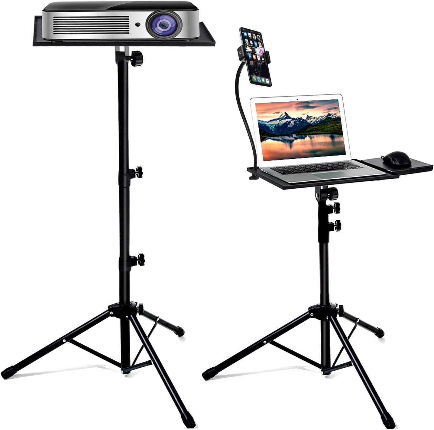 Buy Bulalu Projector Stand, Portable Laptop Tripod Stand ...