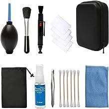 Kit de Limpieza de Lentes KooKen Profesional para Lentes ópticas y Cámaras SLR Digitales Canon EOS rebelde, Nikon, Olympus, Sony Alpha NEX, iPad, Samsung NX y Fuji DSLR