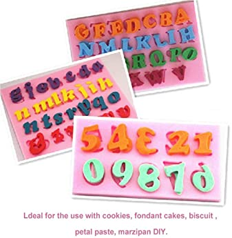 Mini Numbers Silicone Mould Cookware Non-Stick Cake Decorating Fondant Mould