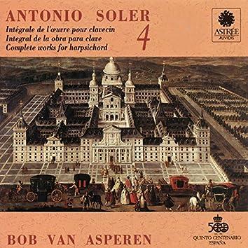 Soler: L'œuvre pour clavecin, Vol. 4 (Clavecin Michael Johnson, Fontmell Magna, 1979, d'après Pascal Taskin, Paris 1764)
