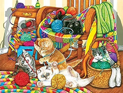 All Tangled Up, a 500 Piece Jigsaw Puzzle by SunsOut by SunsOut
