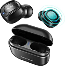 Wireless Earbuds, Occiam 5.0 Bluetooth Headphones 72H Playtime Touch Control IPX7 Waterproof Bluetooth Headsets with Built-in Mic and 2200mAh Charging Case
