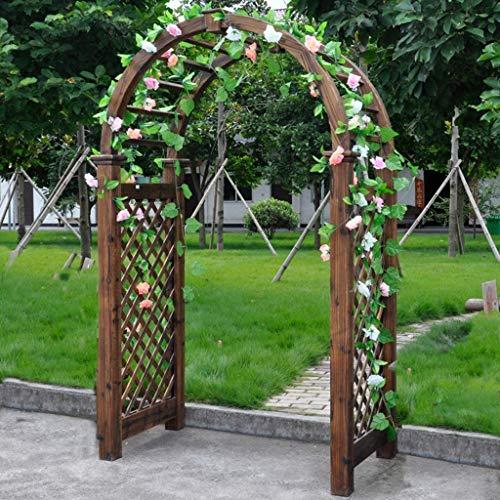 LLDKA Arca Jardín, Árbol de Madera en el jardín en-Tapas de Las Altas Trellis Pergola Patio al Aire Libre, más el tamaño, a Prueba de Agua, el Control de Insectos