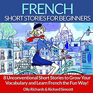 French Short Stories for Beginners audiobook cover art