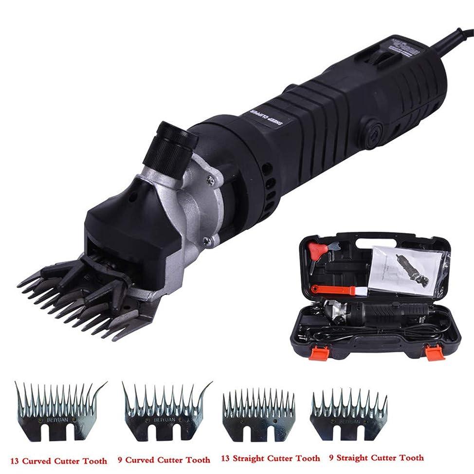 ペット動物電動グルーミングクリッパーシープカッターヤギシザーツール用品用の調整可能な速度電動シャーリングマシン