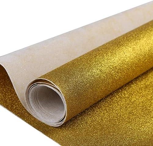 Goldener Teppich, Romantische Hochzeit Teppich Runner Party Bankett Teppich VIP Kanal Teppich, Dicke  0,65 Mm (Größe   1M×30M)