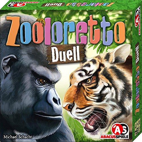 ABACUSSPIELE 06173 - Zooloretto Duell, Brettspiel