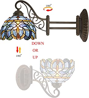 Best blue glass wall sconce Reviews