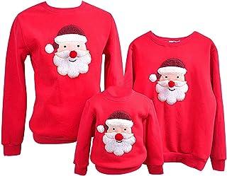 f869bac4281f0 Pull Noel Famille Pulls De Noël Homme Femme Enfant Garçon Fille Sweat Shirt  Moche Pull Over
