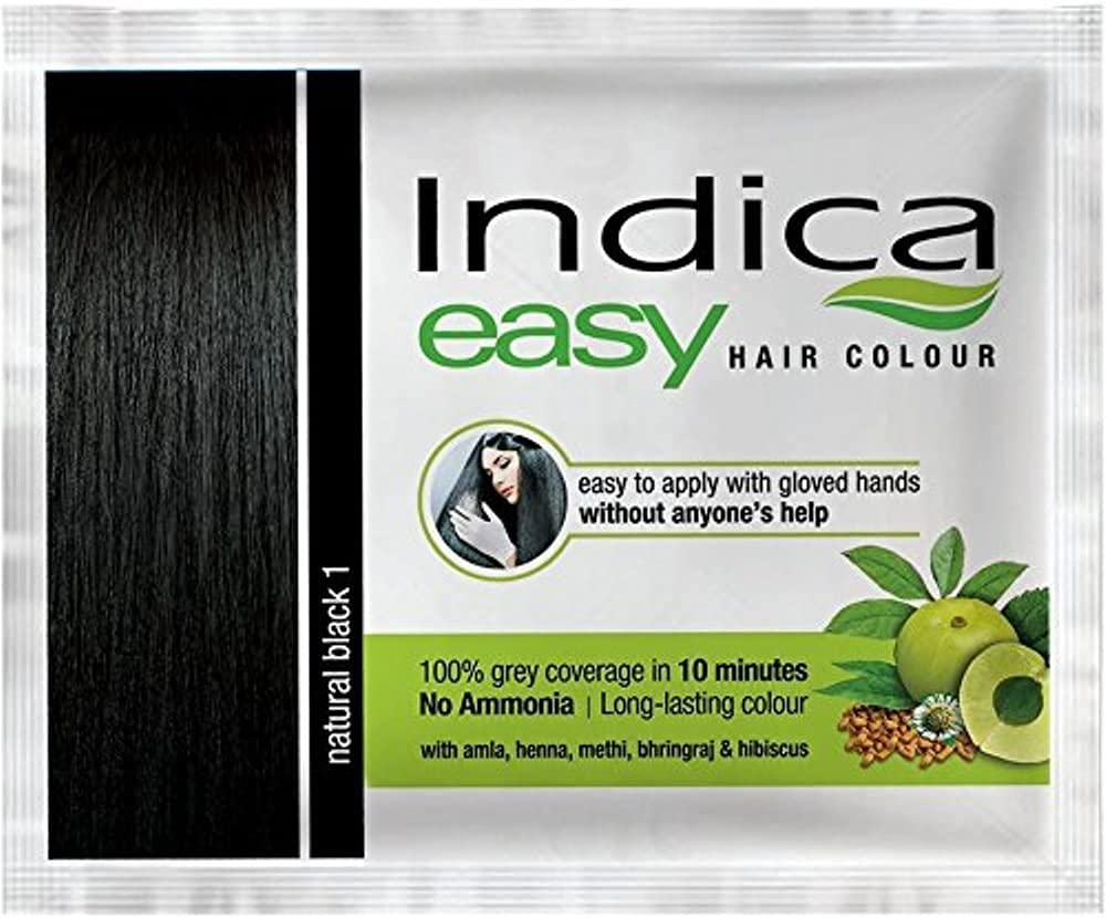 10 depot Pc Easy10 Minutes Herbal Hair Blac Shampoo Al sold out. Color Base Natural
