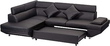 Sofa Sectional Sofa 2 Piece Modern Contemporary for Living Room Futon Sofa Bed Couches and Sofas Sleeper Sofa Modern Sofa Cor