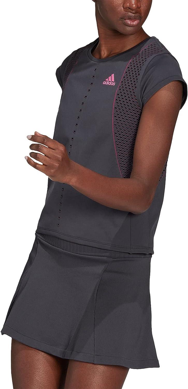Animer and depot price revision adidas Primeblue Primeknit Grey Shirt Tennis Womens