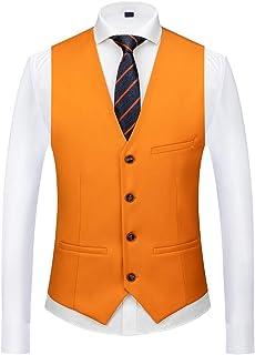 MOGU Mens Waistcoat Causal Suit Vests 15 Colors