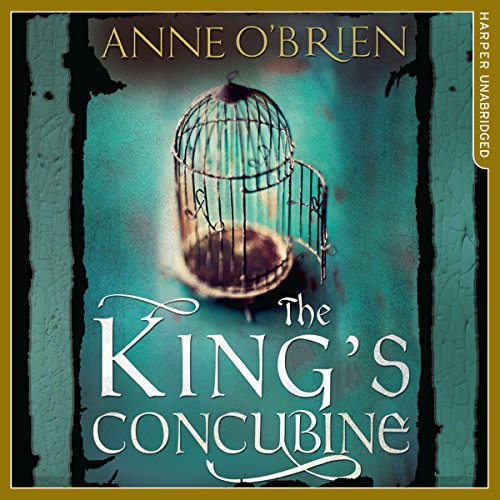 The King's Concubine audiobook cover art