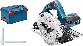 Bosch GKS 55+ GCE 1350W Black, Blue, Red, Silver GKS 55+ GCE, 6.3 cm, 4700 RPM, 4.75 cm, 4 m/s², 1.5 m/s², Black, Blue, Re...